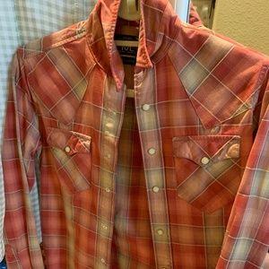 Ralph Lauren Button Down Shirt w/Pearl Snaps